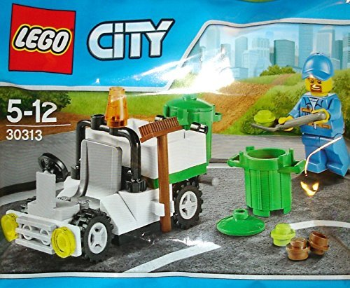 LEGO City Garbage Truck Mini Set #30313 [Bagged] (Lego City Truck Recycling)