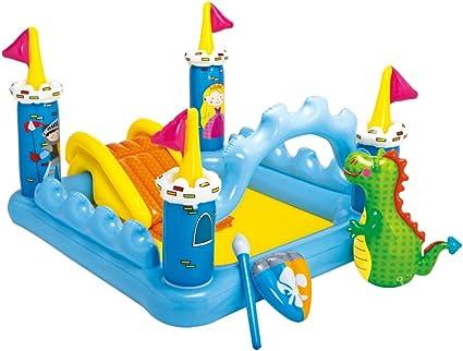 Amazon.com: Centro de juegos inflable castillo de ...