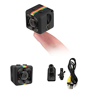 TOOGOO Camara Vision nocturna Grabador de video 1080P HD portatil pequeno con Camara de vision nocturna