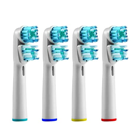 Review 4pcs Replacement Toothbrush Heads