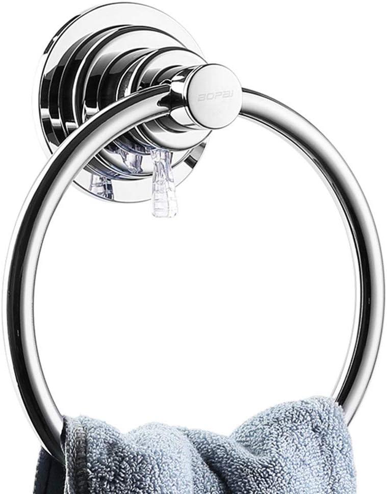 Maxhold Suction Screw Tea Towel Ring//Tea Towel Holder//Towel Ring,...