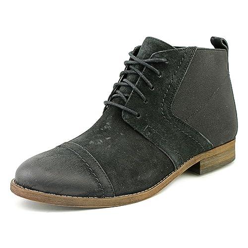 231cdf6b8b Franco Sarto Halix Womens Oxford Ankle Booties Black Leather 6.5