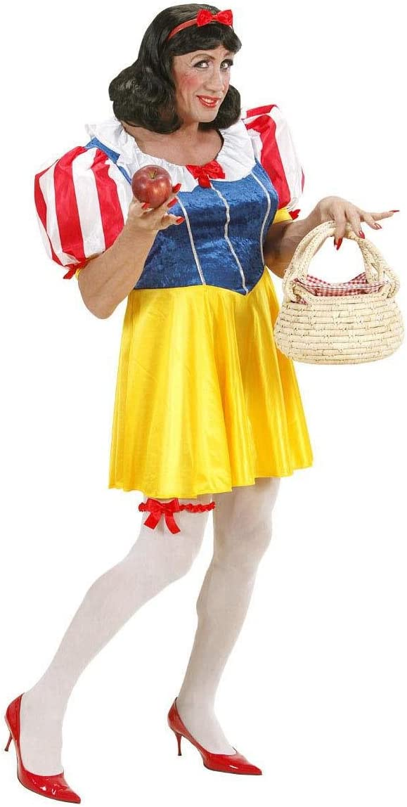 Desconocido Disfraz de Blancanieves Drag Queen - Talla XL , color ...