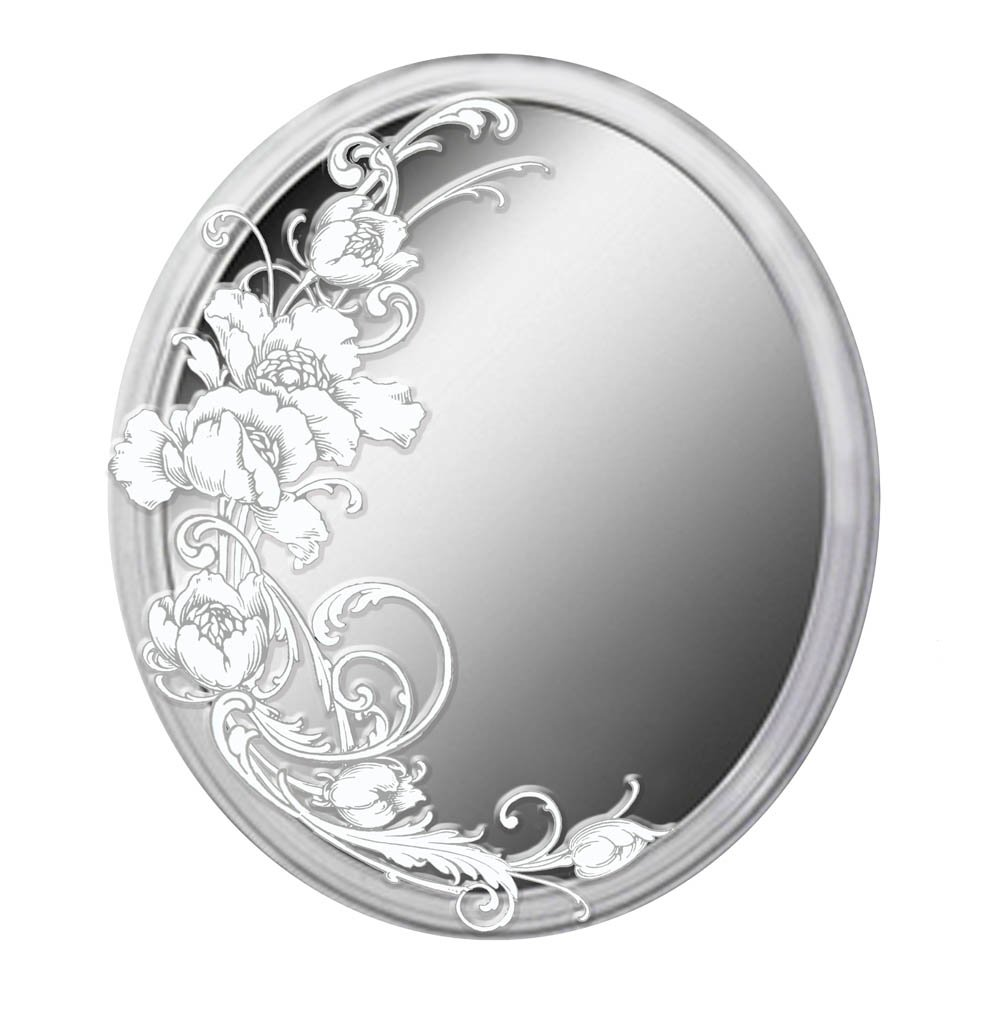 Ohio Wholesale Art Nouveau Floral Mirror, from our Everyday Collection