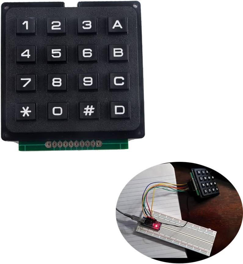 4 x 3 Matrix Array 12 Keys 4*3 Switch Keypad Small Keyboard Module for Arduino T
