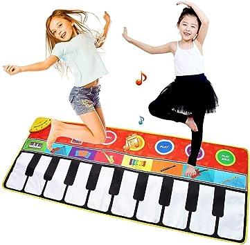 Alfombra de Juego para Bebés Alfombrilla de piano musical