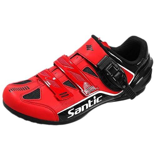 Zapatillas De Ciclismo Escalada Zapatillas Transpirables Zapatillas De Carretera Sin Cerradura Bicicleta De Montaña Zapatillas De Dirección Asistida: ...