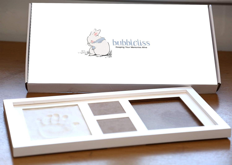 Beb/é mano y huella Kit por bubbleliss Seguro y f/ácil de usar Gran beb/é regalo presente