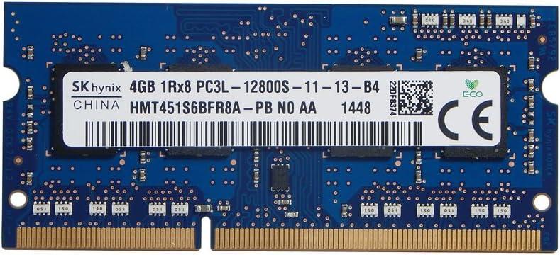 SK Hynix 4gb DDR3 SODIMM RAM PC3L-12800S Hmt451s6bfr8a-pb