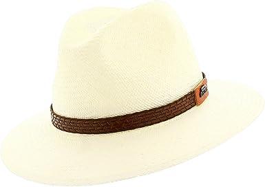 Votrechapeau – Sombrero Panamá de paja, sombrero fedora, ala baja ...