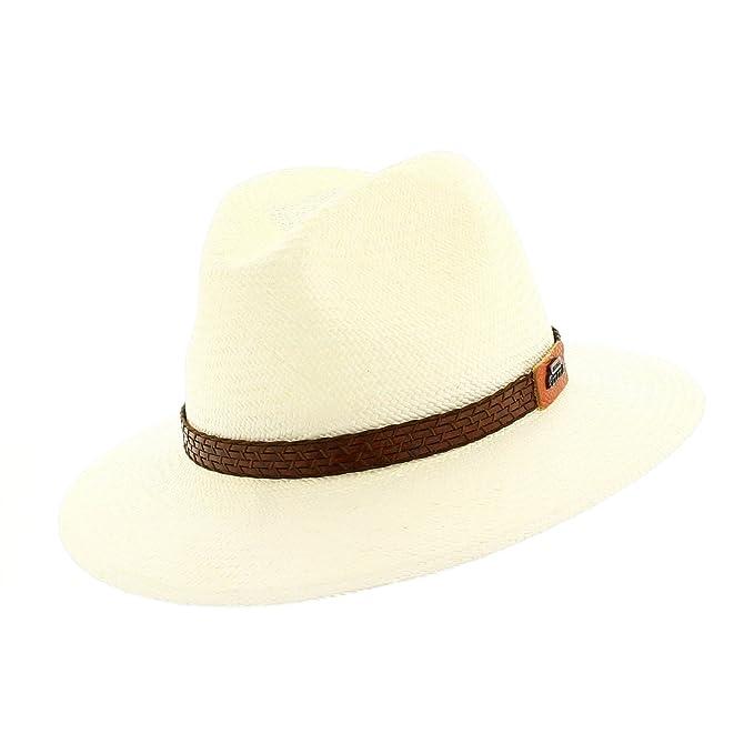 Votrechapeau Panama-cannuccia Brisa-Fedora-Cappello diminuito bordo   Amazon.it  Abbigliamento 54810a7f7591
