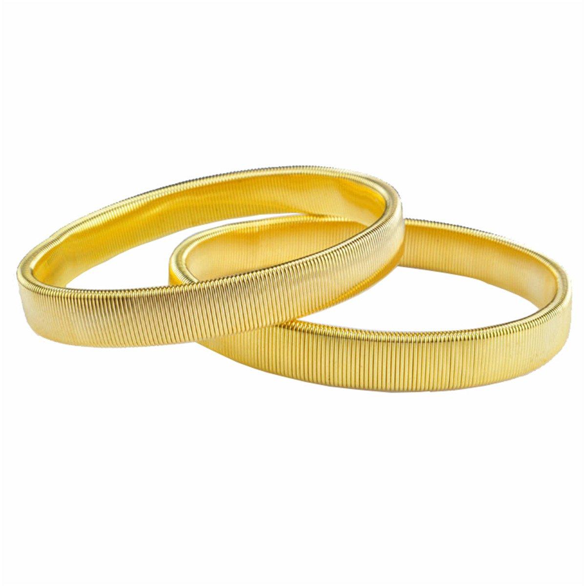 Verstellbare Elastische Metall Ärmel Hemd Armbänder Inhaber Golden