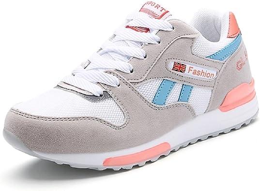 Peggie House,Zapatos para Correr Zapatillas para Mujer Zapatillas de Running Zapatillas de Deporte Zapatos del Aire 35-40: Amazon.es: Zapatos y complementos
