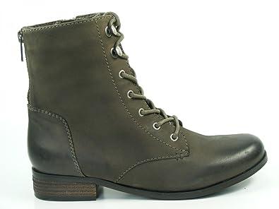 SPM KA 12444047 Zaragoza Schuhe Damen Schnür Stiefeletten, Schuhgröße:40;Farbe:Braun