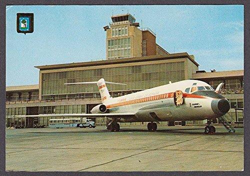 iberia-airlines-dc-9-at-barajas-airport-madrid-spain-postcard