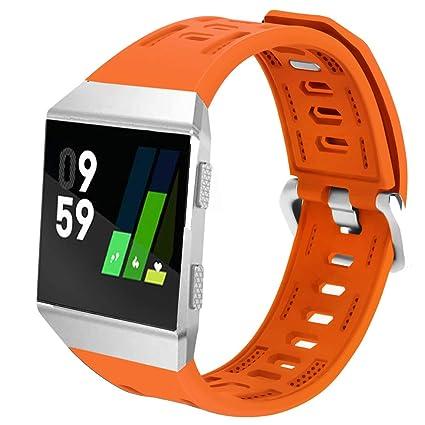 Amazon.com: Correa de silicona para reloj Fitbit Ionic