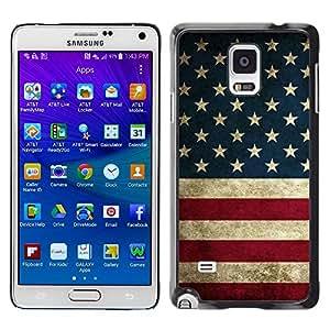 Paccase / SLIM PC / Aliminium Casa Carcasa Funda Case Cover para - White Glitter Chevron Pattern Shiny - Samsung Galaxy Note 4 SM-N910F SM-N910K SM-N910C SM-N910W8 SM-N910U SM-N910