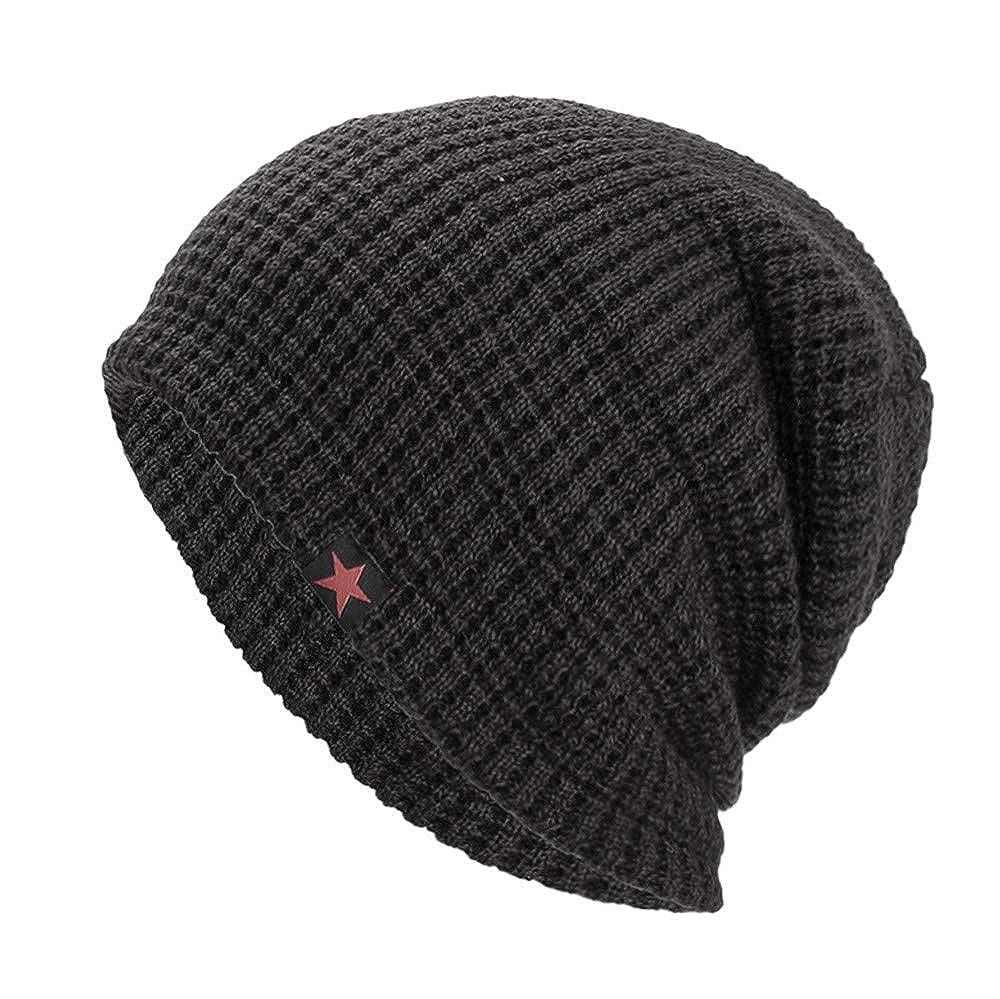 VRTUR Warme Einfarbig Feinstrick Beanie Mütze mit Flecht Muster und Sehr Weichem Fleece Innenfutter 201809Hut