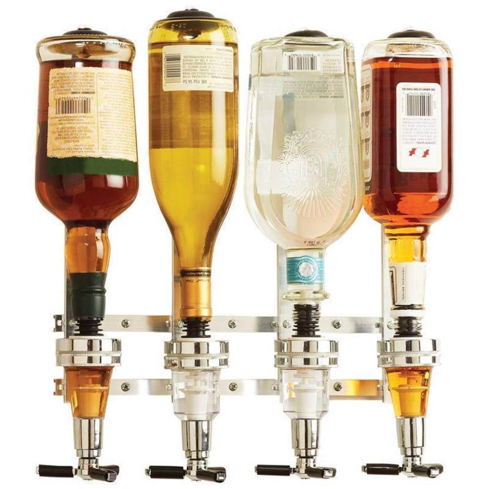 Amazon.com: | Other Bar Tools | Wall Mounted 4-station Liquor Wine Dispenser Machine Bar Butler Drinking Pourer Home Bar Tools For Beer Soda Coke Fizzy Soda ...