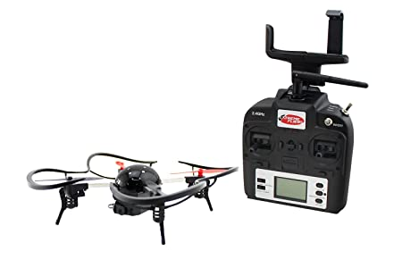 Amazon.com: Extreme Fliers Micro Drone 3.0 Combo Pack WIFI Quadcopter with 720P HD Camera Module, FPV VR Viewer and Smartphone Holder: Toys & Games