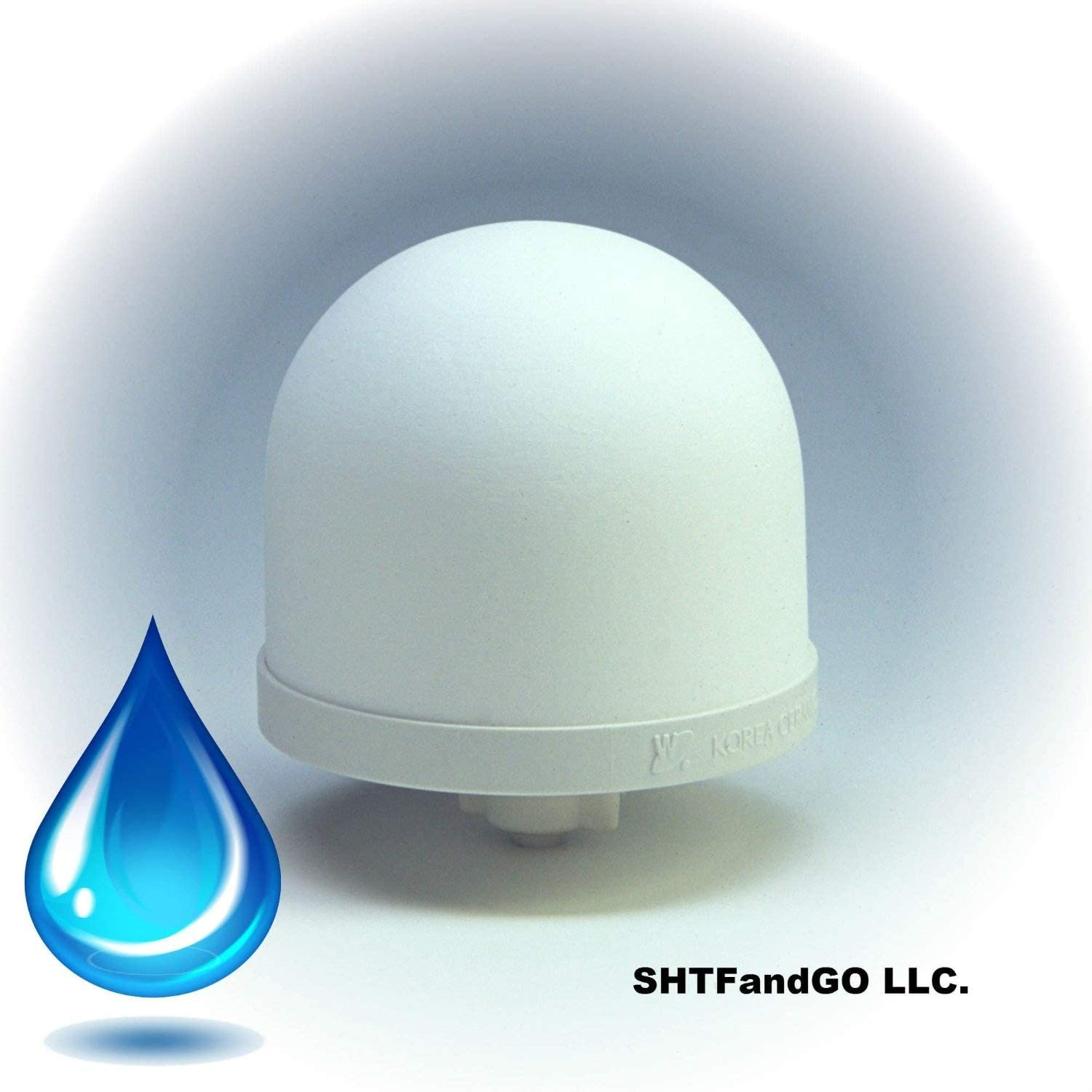 SHTFandGO Ceramic Dome Water Filter Element with Silver for Anti-Bacterial Purification (1)