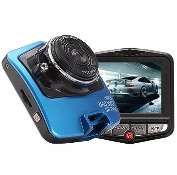 [Upgraded] Dash Cam, Full HD 1080p coche DVR, visión nocturna grabadora on