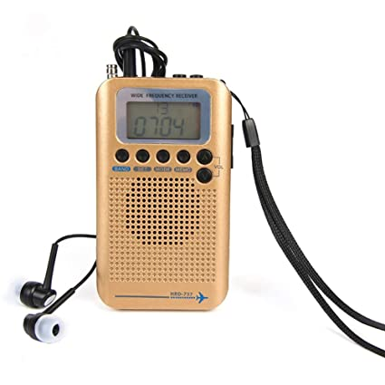Amazon com: Gyswshh HRD-737 Portable Digital LCD Full Band FM/AM/SW