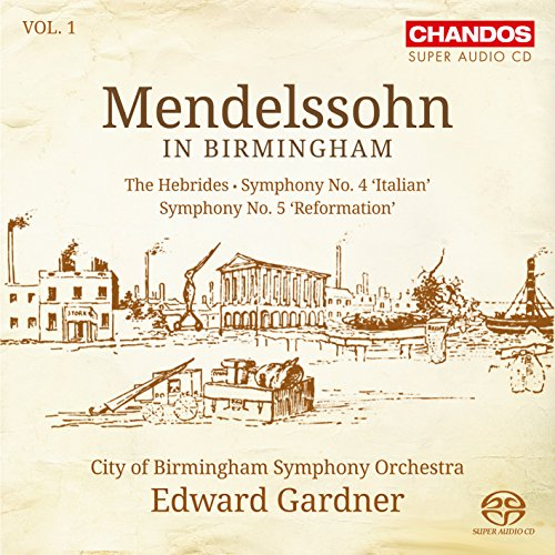 (Mendelssohn in Birmingham, Vol. 1)