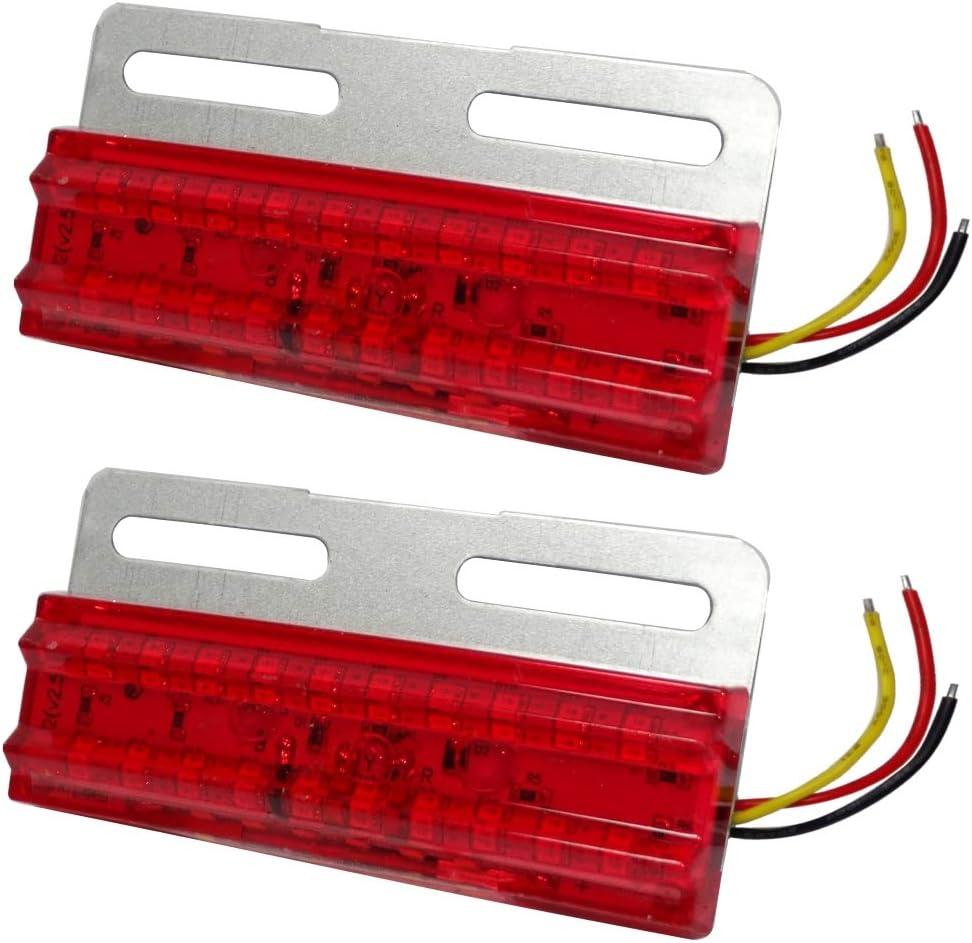 Blanc 2 Feu de gabarit /à LED 24V AERZETIX