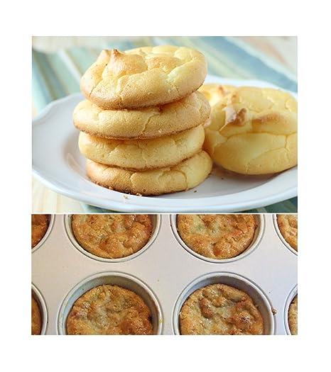 Donut para repostería y magdalenas Top cacerola Bundle - 2 sartenes - comer sano y perder peso - Bake Low-Carb magdalenas, donuts, bollos y más: Amazon.es: ...
