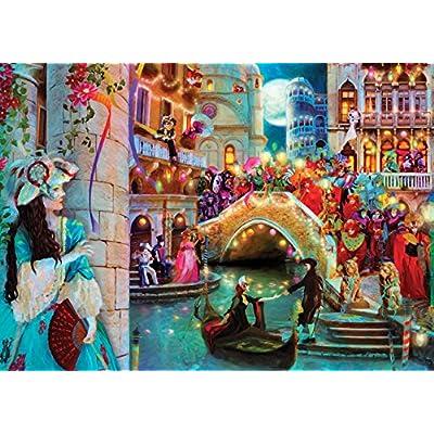 Sk Jigsaw Puzzle 2000 Pieces Aimee Stewart Venice Carnival