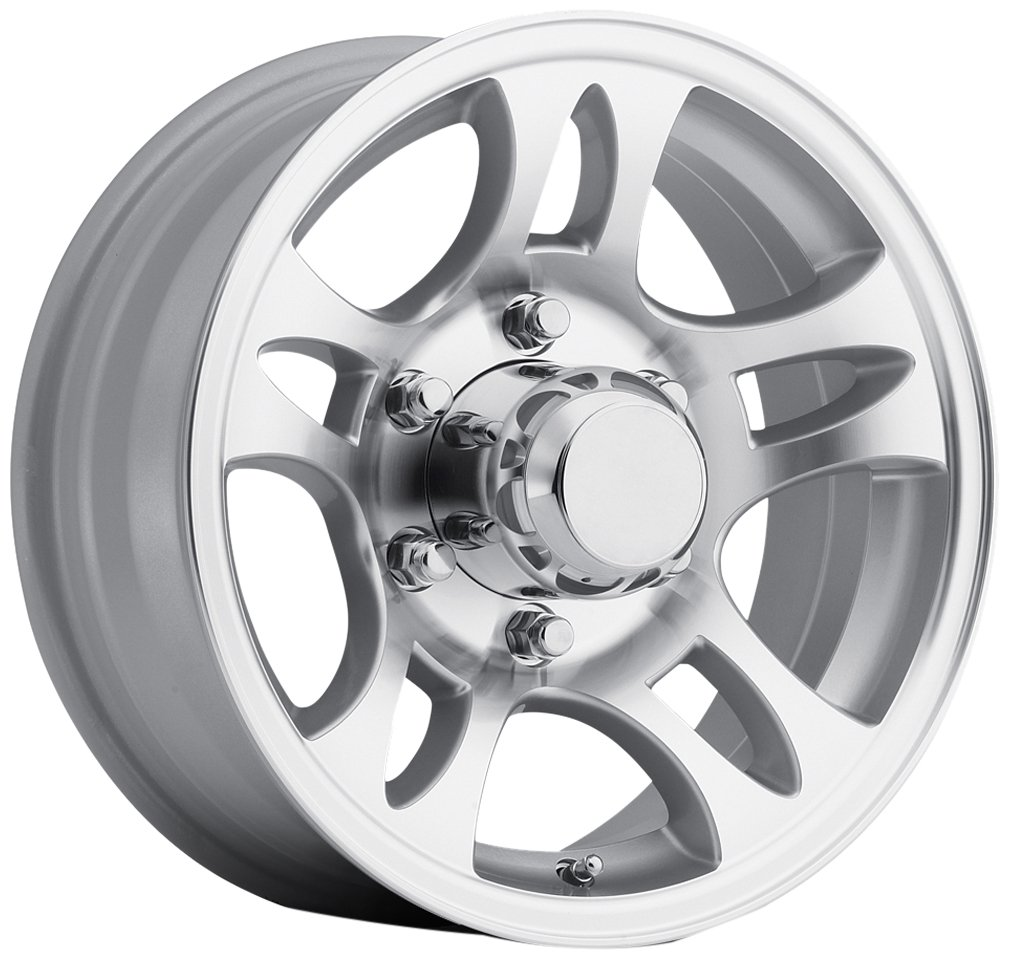 Sendel T03 Silver Wheel with Machined Finish (166''/65.5inches 0mm Offset)