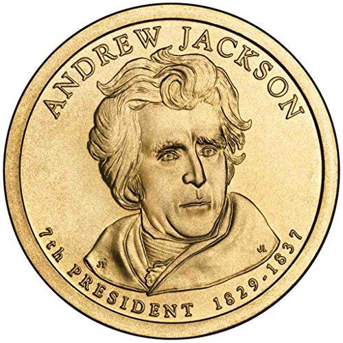 2008 D Jackson Presidential Dollar Choice Uncirculated