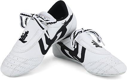 Kickboxing Taichi Men Ladies Kid Taekwondo Shoes Slip On Kung Fu Sneaker Karate