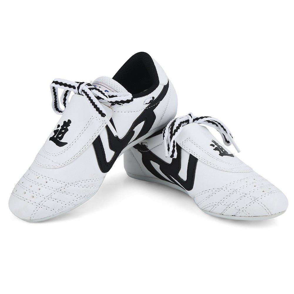 a87e31bdcebf9 Martial Arts Taekwondo Shoes,Unisex Children Teenager Sport Boxing Karate  Shoes for Taekwondo, Boxing, Kung Fu and Taichi