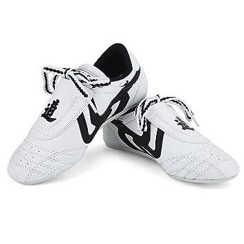 Kids Men Taekwondo Shoes Martial Arts Trainers Karate Training Athletic all size
