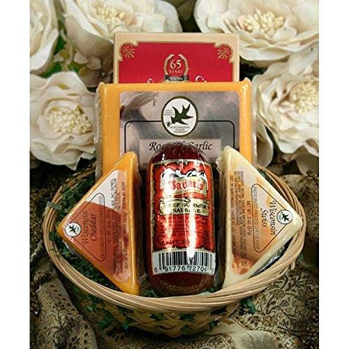 Hostess Mini Cheese Sampler Gift Basket