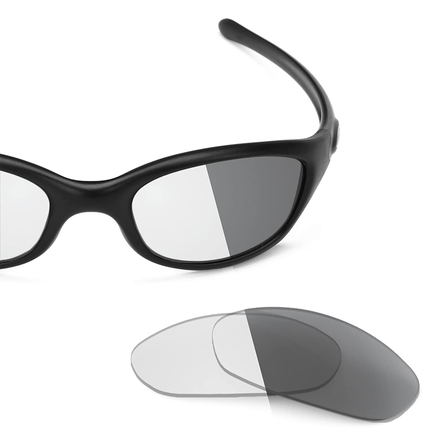 9748a84137 Revant Replacement Lenses for Oakley Fives 2.0 Elite Adapt Grey Photochromic   Amazon.co.uk  Clothing