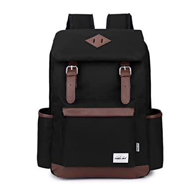 Amazon.com | HEXIN Laptop Backpacks School Book Bag Travel Back ...