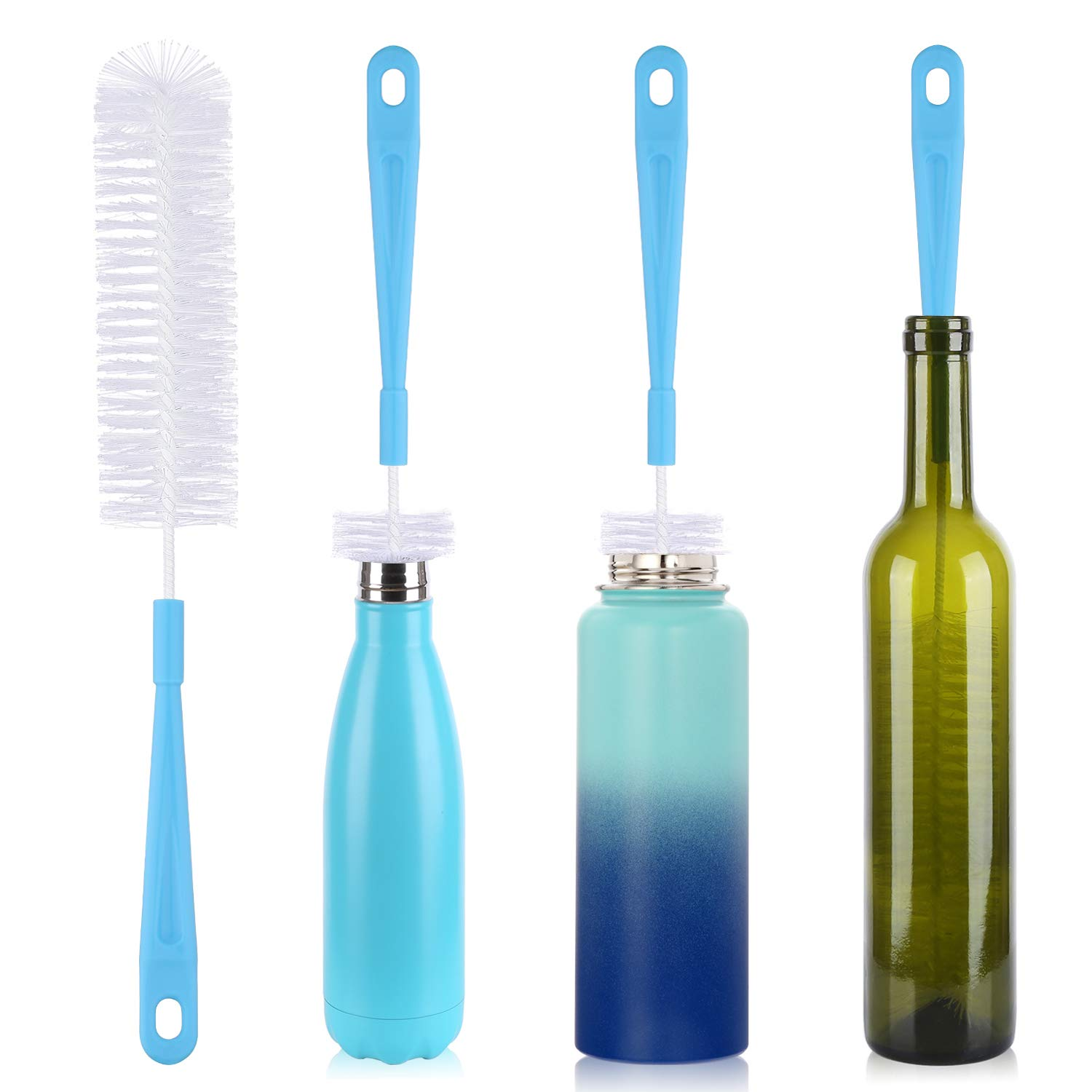Amazon.com: 2 Qty Drink Straw Cleaning Brush - Bristle Cleaner for ...