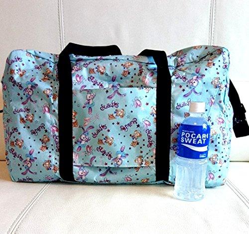 ダッフィーステラルー3way携帯ボストンバッグ大旅行用キャリーオンショルダートートスーツケースにバレエシューズ香港