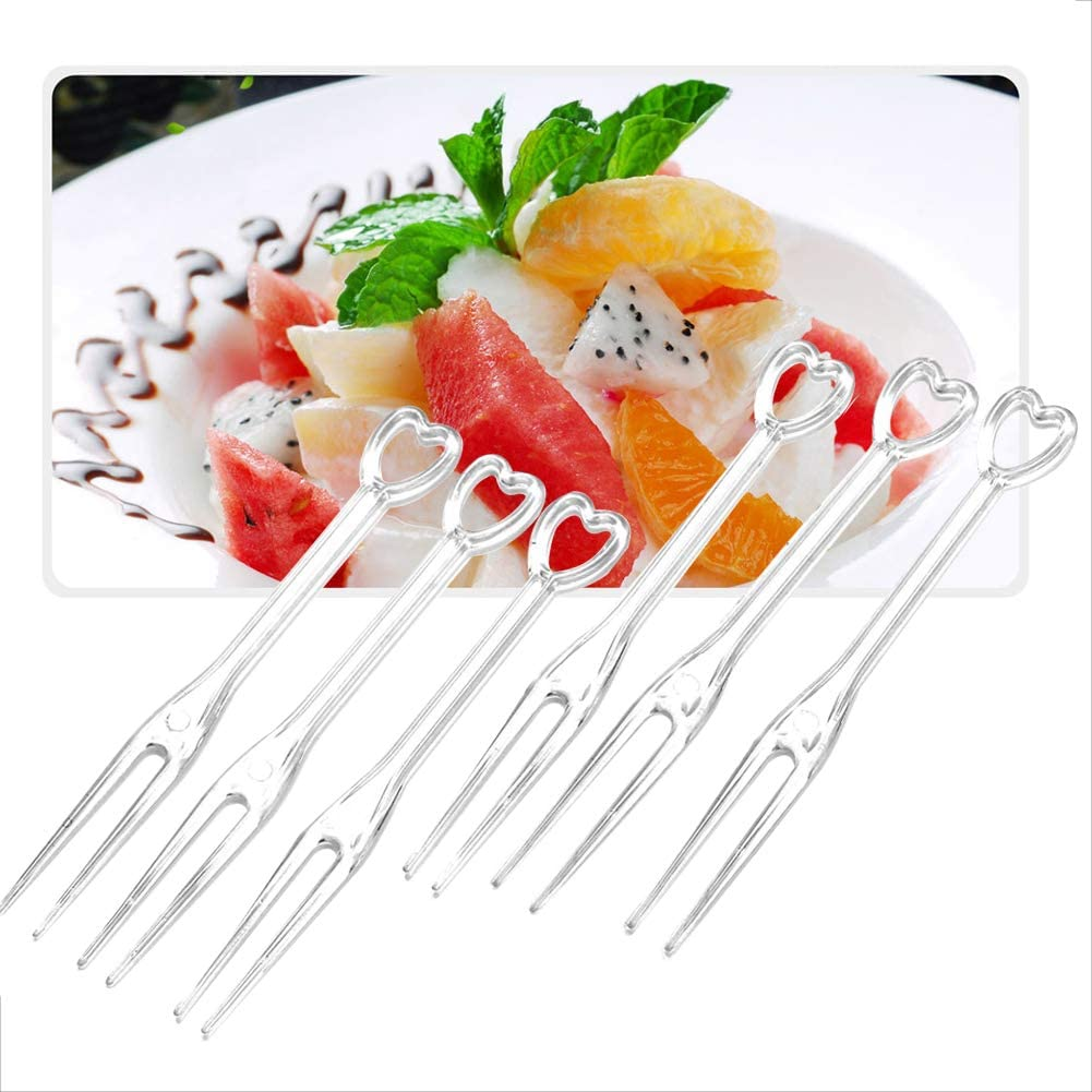 HuiYouHui 300 Disposable Fruit Forks safety and sanitation 3.5