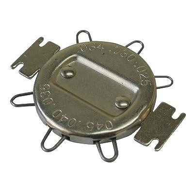 Supermotorparts Spark Plug Gapper Gap Adjustment Tool w/Metric Standard Inches Gauge 648522: Home Improvement