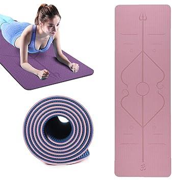 Ruosai Una Colchoneta de Yoga Deportes Terrestres, Gimnasios ...