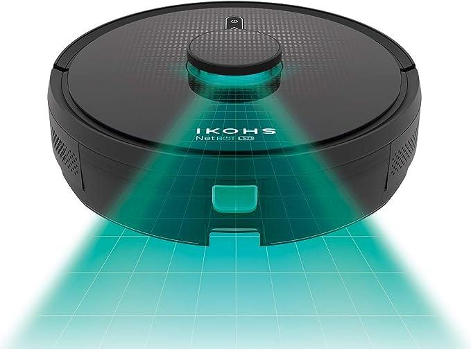 IKOHS NETBOT LS23 - Robot Aspirador Láser, Aspira, Barre, Friega y ...