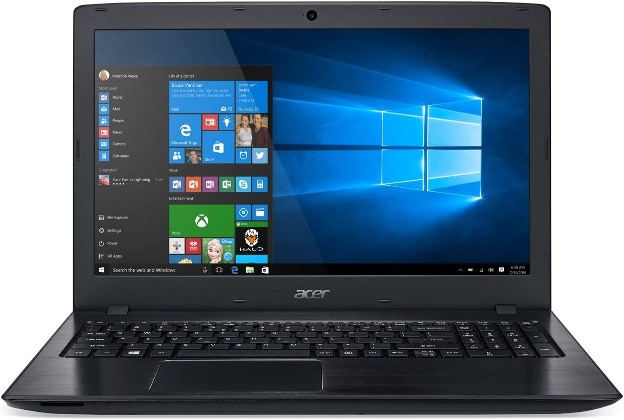 Acer Aspire E15 High Performance Laptop, 15.6in FHD, Intel Core i3-8130U, 6GB RAM, 1TB HDD, 8X DVD, Windows 10 Home (Renewed)