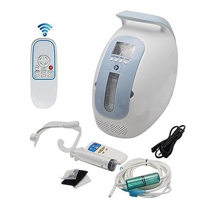 Vogvigo Portable Concentrador y generador de oxígeno ,90% Oxígeno de alta pureza Máquina Purificador