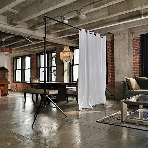 RoomDividersNow Freestanding Adjustable Room Divider Stand - X-Large, 37ft 6in - 50ft Wide (Divider Room System)