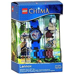 LEGO Legends of Chima Lennox Buildable Watch with Mini Figure 9000393 LEGO