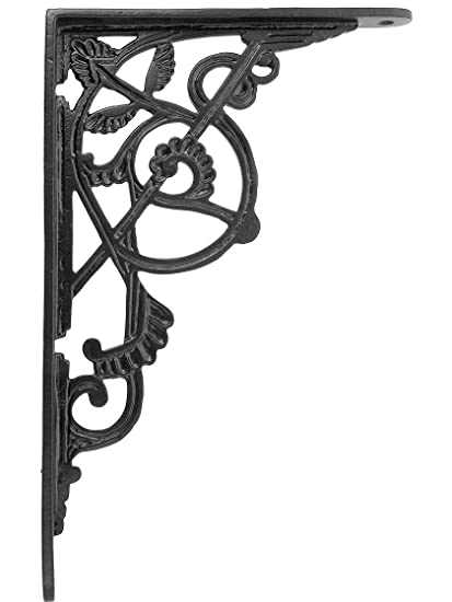 Other Antique Furniture Antique Victorian American Cast Iron Wall Shelf/bracket Without Return